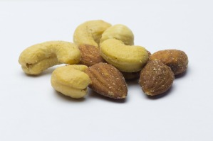 Cashews Dried Fruits Appetizer Salted Almonds
