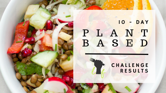 plantbased challenge results